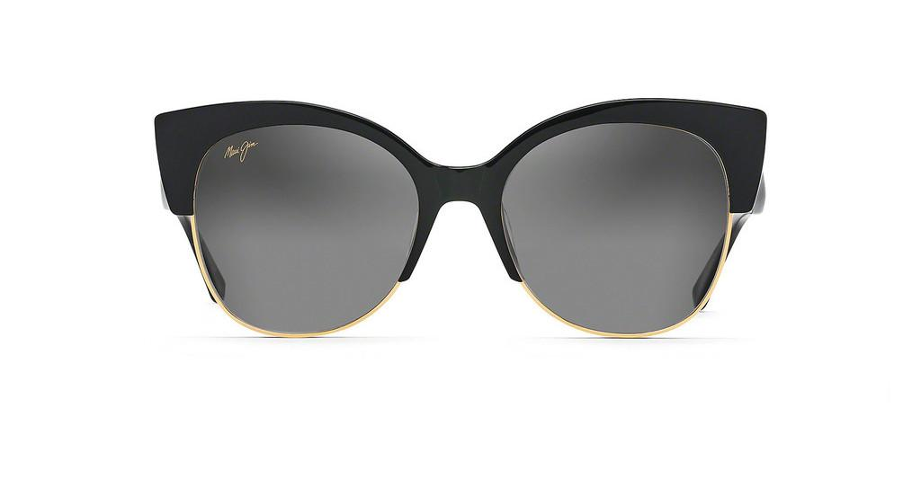 Maui Jim   Mariposa GS817-02 Neutral GreyBlack Gloss with Gold