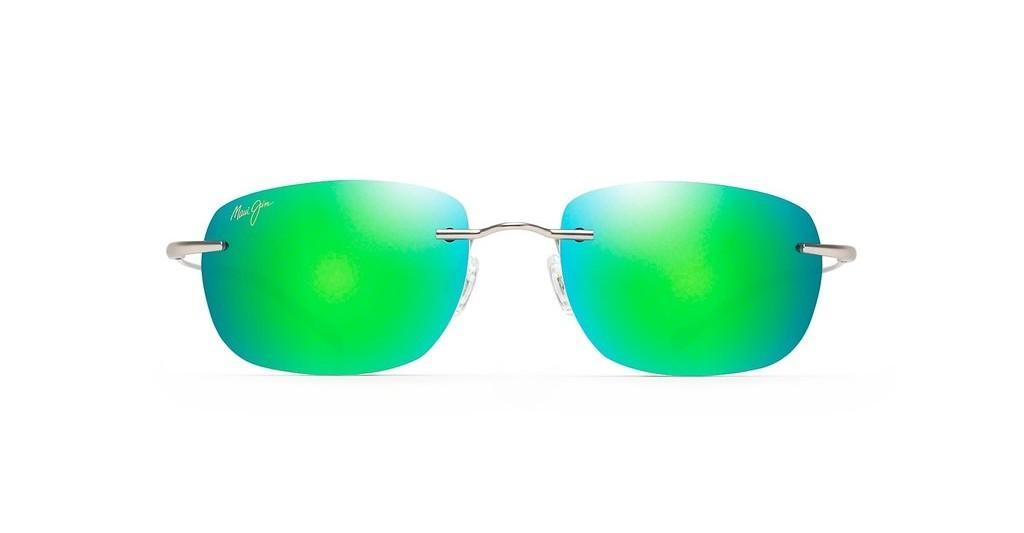 Maui Jim   Nanea GM332-17M Green MirrorMatte Silver