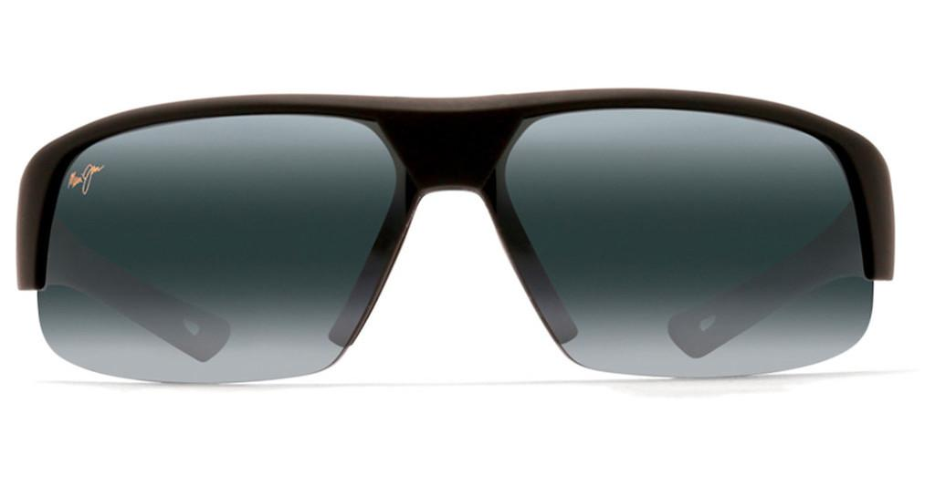 Maui Jim   Switchbacks 523-02MR Neutral GreyMatte Black Rubber