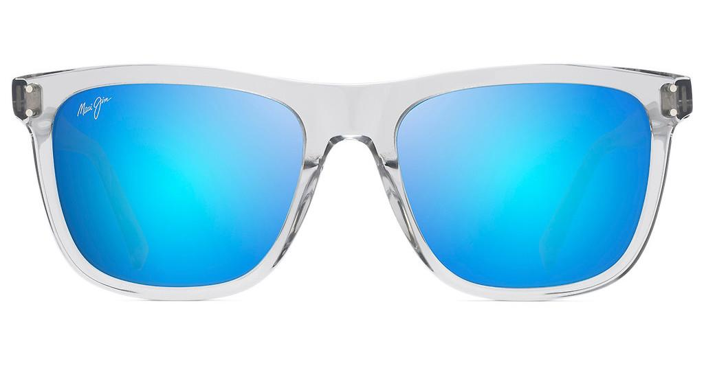 Maui Jim   Velzyland B802-11 Blue HawaiiLight Grey Crystal