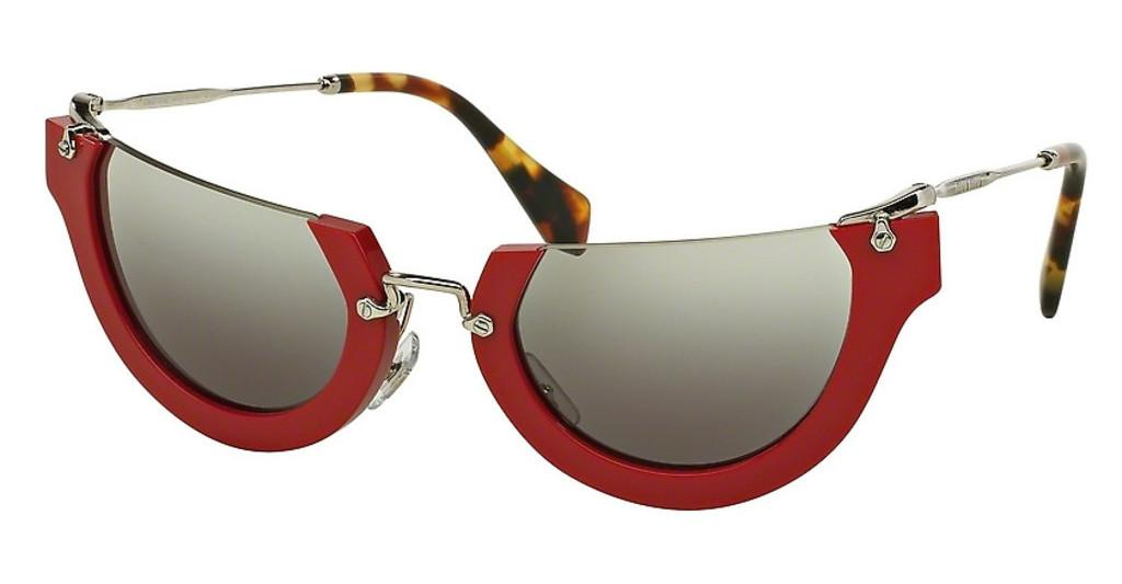 Miu Miu   MU 11QS UA44N2 GREY GRADIENTRED