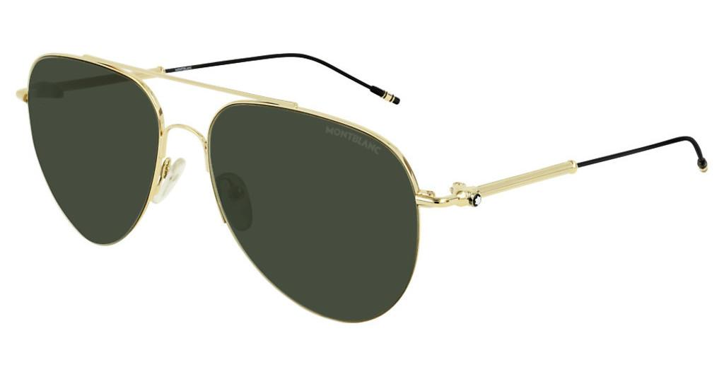 Mont Blanc   MB0037S 002 GREENGOLD