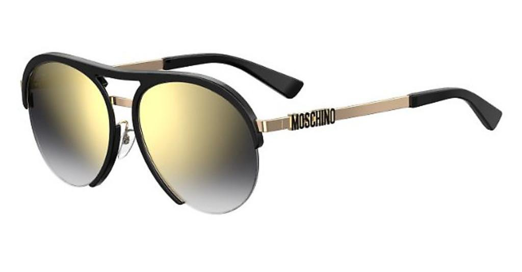 Moschino   MOS044/F/S 2M2/FQ GREY SF GD SPBLK GOLD