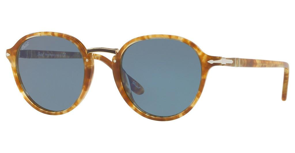 Persol   PO3184S 106456 LIGHT BLUESPOTTED BROWN BEIGE