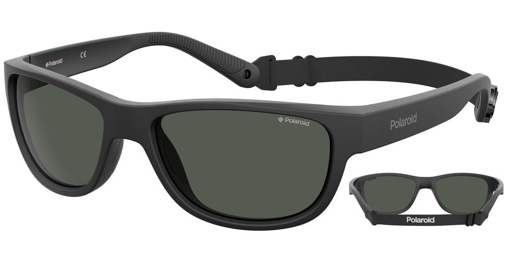 Polaroid Sports   PLD 7030/S 003/M9 GREY PZMTT BLACK