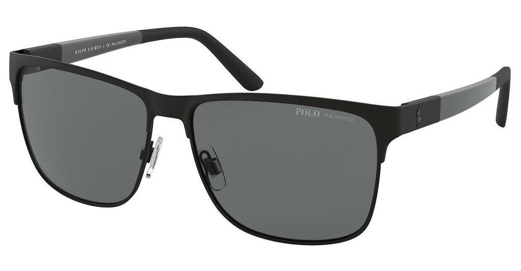 Polo   PH3128 939781 POLAR GRAYMATTE BLACK ON SHINY BLACK