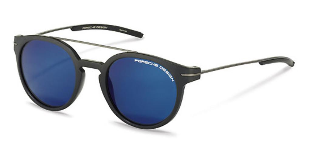 Porsche Design   P8644 A dark blue mirroredblack, gun