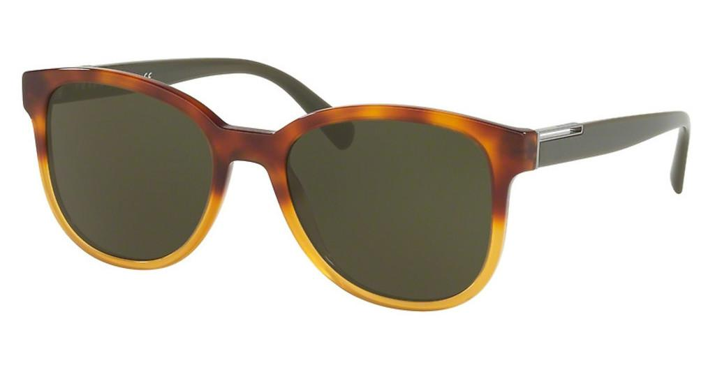 Prada   PR 08US NKO4J1 DARK GREENHAVANA GRADIENT YELLOW