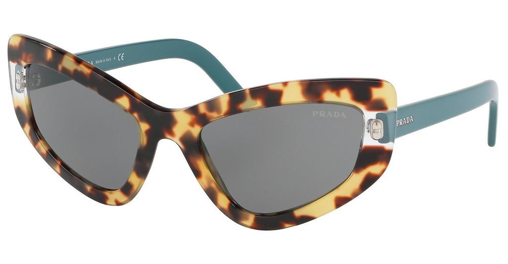 Prada   PR 11VS 4726Q0 GREYMEDIUM HAVANA/TRANSPARENT