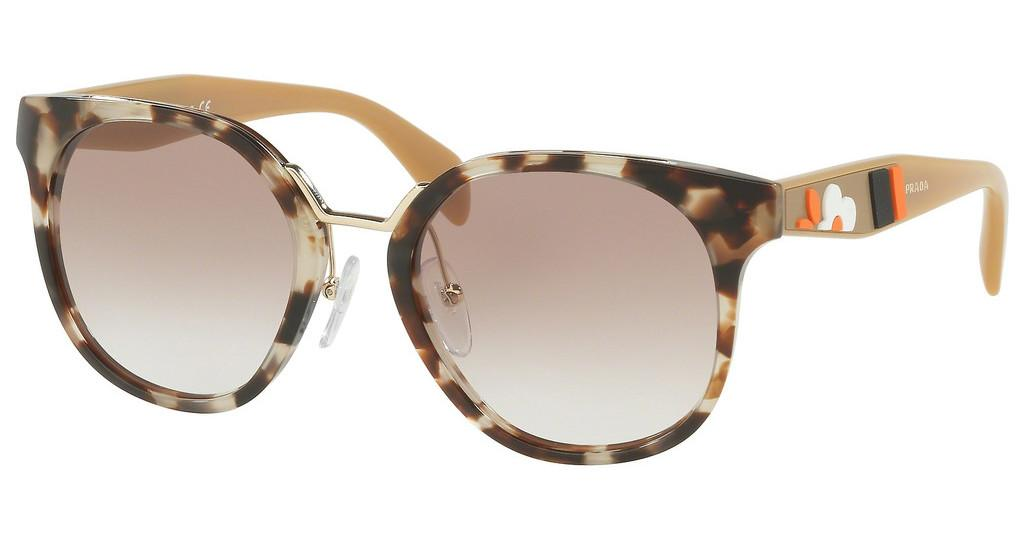 Prada   PR 17TS UAO1L0 BROWN GRADIENTSPOTTED OPAL BROWN
