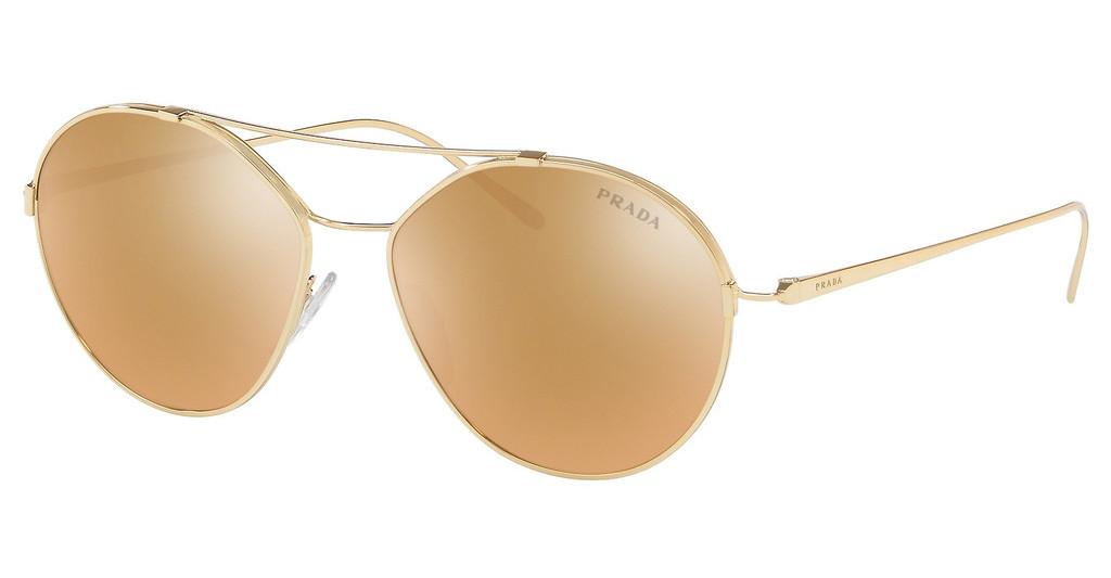 Prada   PR 56US 5AK200 BROWN MIRROR GOLDGOLD