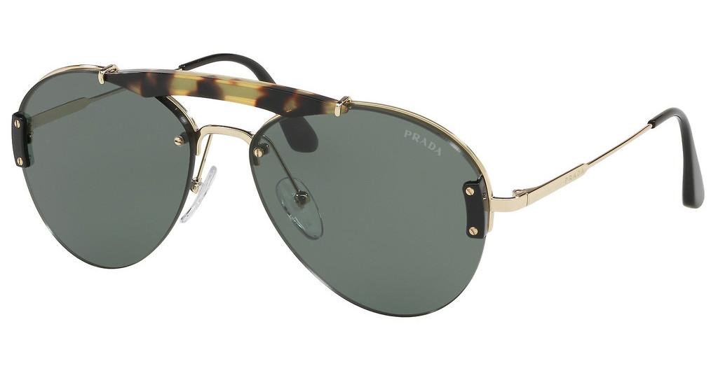 Prada   PR 62US 09R254 LIGHT GREENMEDIUM HAVANA/PALE GOLD