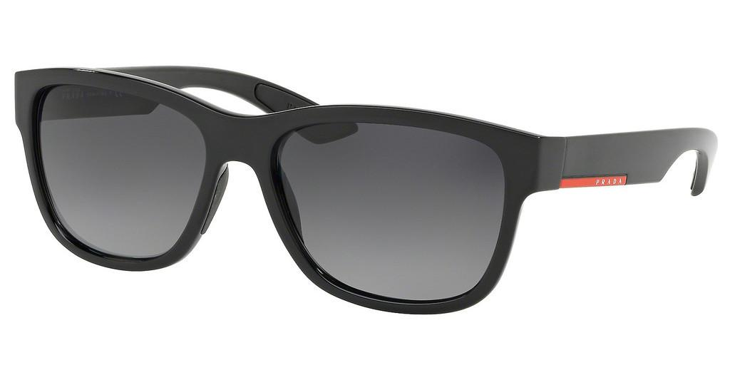 Prada Sport   PS 03QS 1AB5W1 POLAR GREY GRADIENTBLACK
