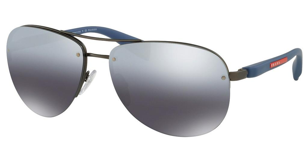 Prada Sport   PS 56MS DG12F2 POLAR GREY MIRROR GRAD SILVERGUNMETAL RUBBER