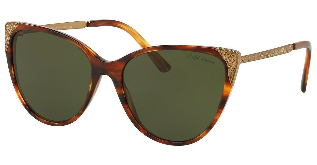 Ralph Lauren   RL8172 500771 GREENSTRIPED HAVANA