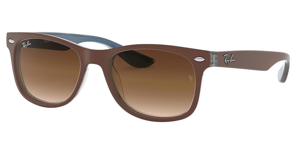 Ray-Ban Junior   RJ9052S 703513 BROWN GRADIENT DARK BROWNTOP MATTE BROWN ON BLUE