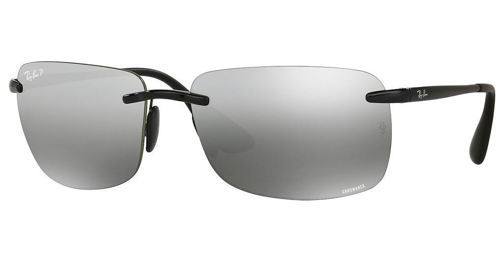 Ray-Ban   RB4255 601/5J GREY MIRROR SILVER POLARSHINY BLACK