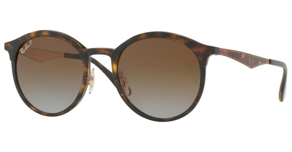 Ray-Ban   RB4277 710/T5 LIGHT GREY GRADIENT BROWN POLALIGHT HAVANA