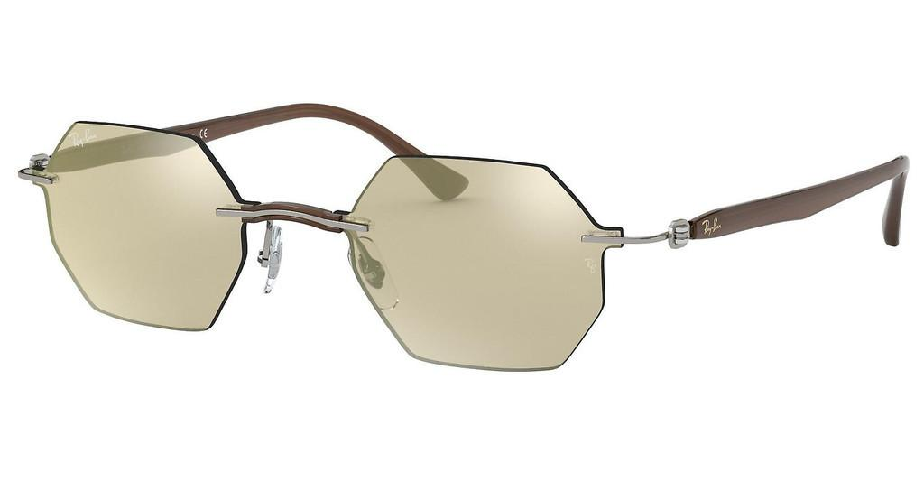 Ray-Ban   RB8061 159/5A LIGHT BROWN MIRROR GOLDGREY