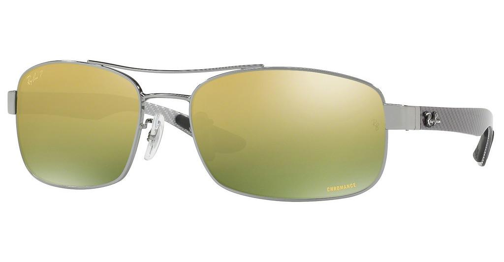 Ray-Ban   RB8318CH 004/6O GREEN MIR GOLD GRADIENT POLARGUNMETAL