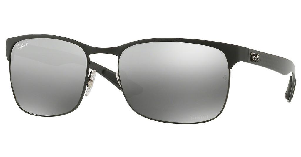 Ray-Ban   RB8319CH 186/5J GREY MIR GREY GRADIENT POLARBLACK TOP ON MATTE BLACK