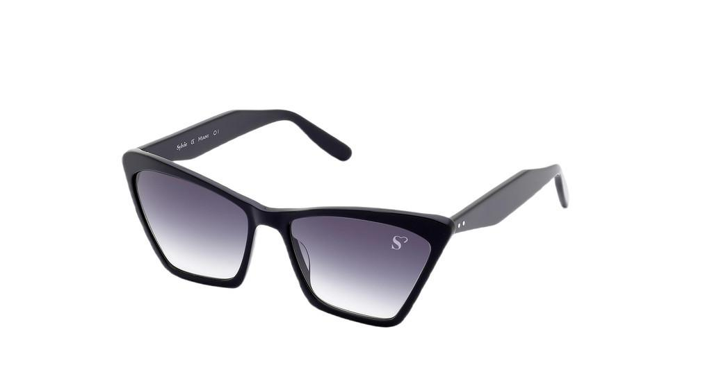 Sylvie Optics   Miami 01 grey gradblack
