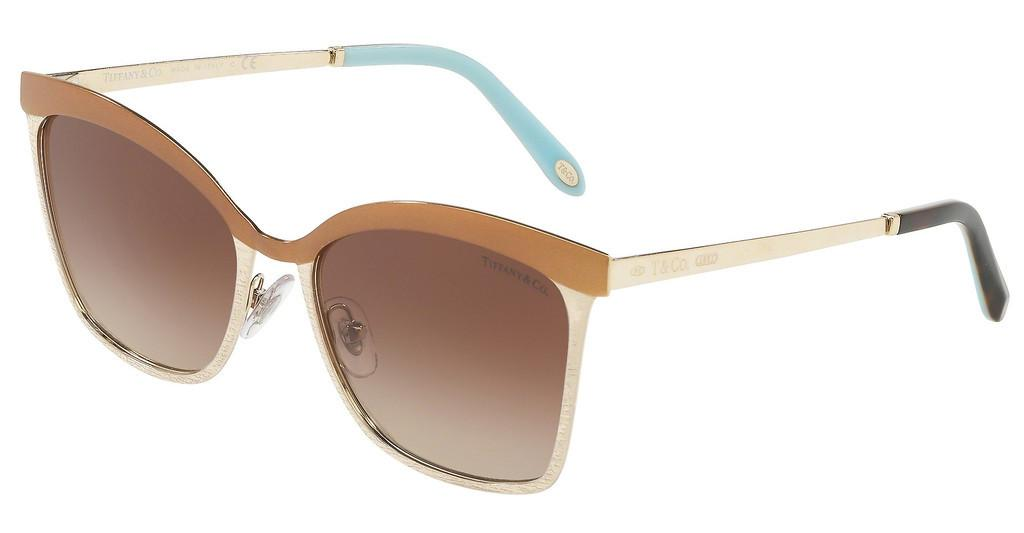 Tiffany   TF3060 61283B BROWN GRADIENTBROWN/PALE GOLD