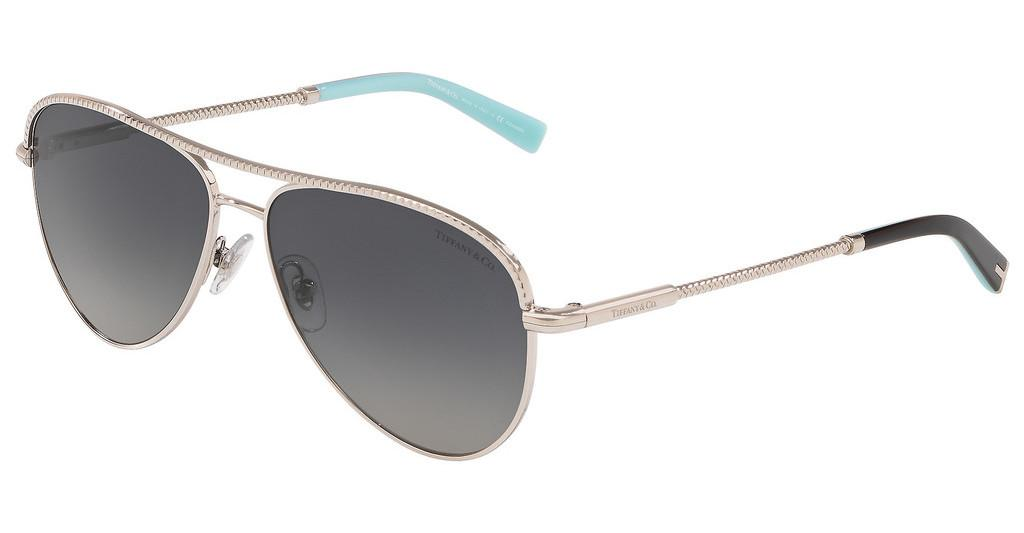 Tiffany   TF3062 6037T3 POLAR GREY GRADIENTSILVER