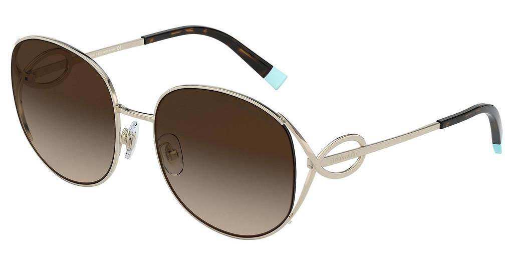 Tiffany   TF3065 60213B BROWN GRADIENTPALE GOLD