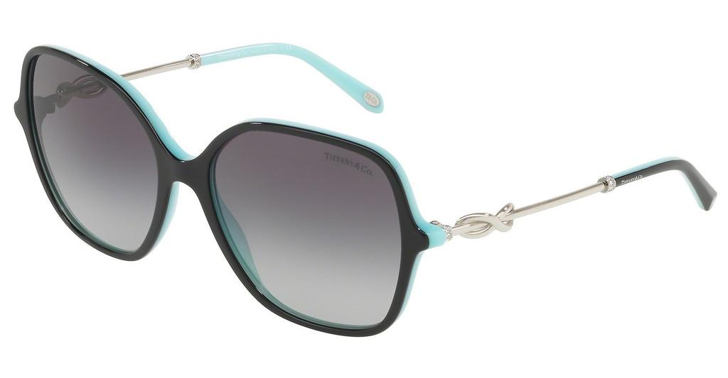 Tiffany   TF4145B 80553C GREY GRADIENTBLACK/BLUE