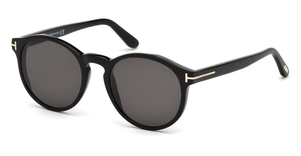 Tom Ford   FT0591 01A grauschwarz glanz