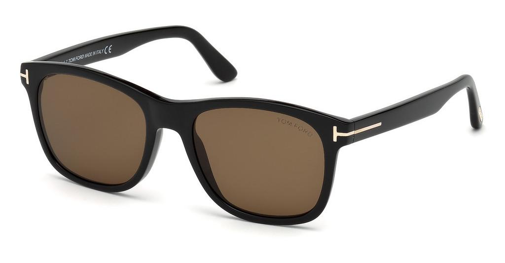 Tom Ford   FT0595 01J roviexschwarz glanz