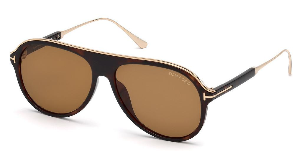 Tom Ford   FT0624 52E braunhavanna dunkel