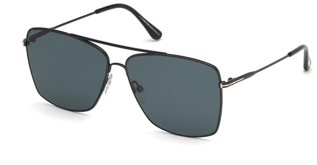 Tom Ford   FT0651 01V blauschwarz glanz