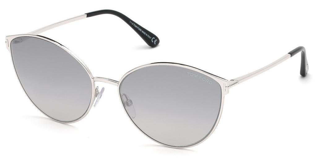 Tom Ford   FT0654 18C grau verspiegeltrhodium glanz