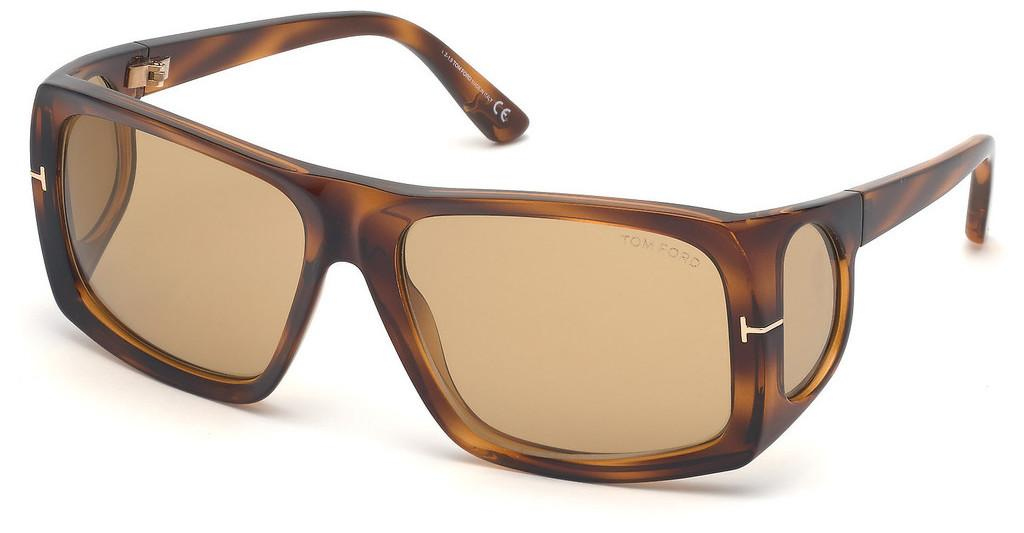 Tom Ford   FT0730 48E braunbraun dunkel glanz