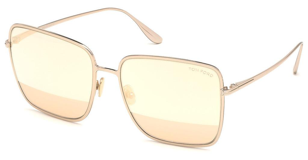 Tom Ford   FT0739 28Z verspiegeltrosé-gold glanz