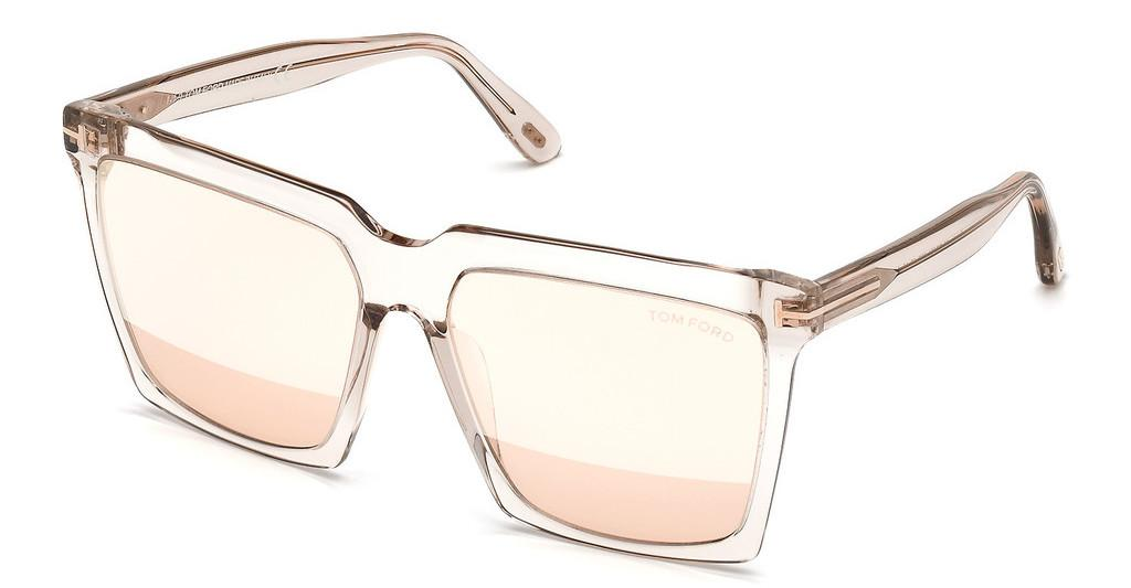 Tom Ford   FT0764 20Z violett ver. od/und versp.grau