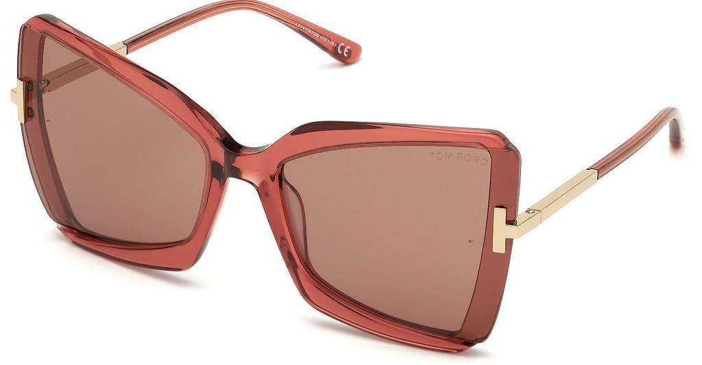 Tom Ford   FT0766 72Y violettrosa glanz