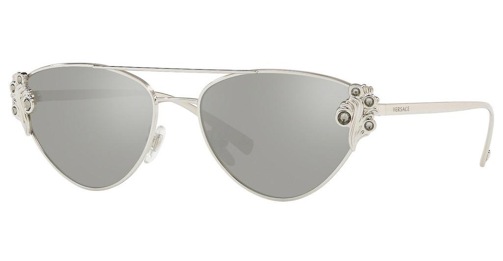 Versace   VE2195B 10006G LIGHT GREY MIRROR SILVERSILVER