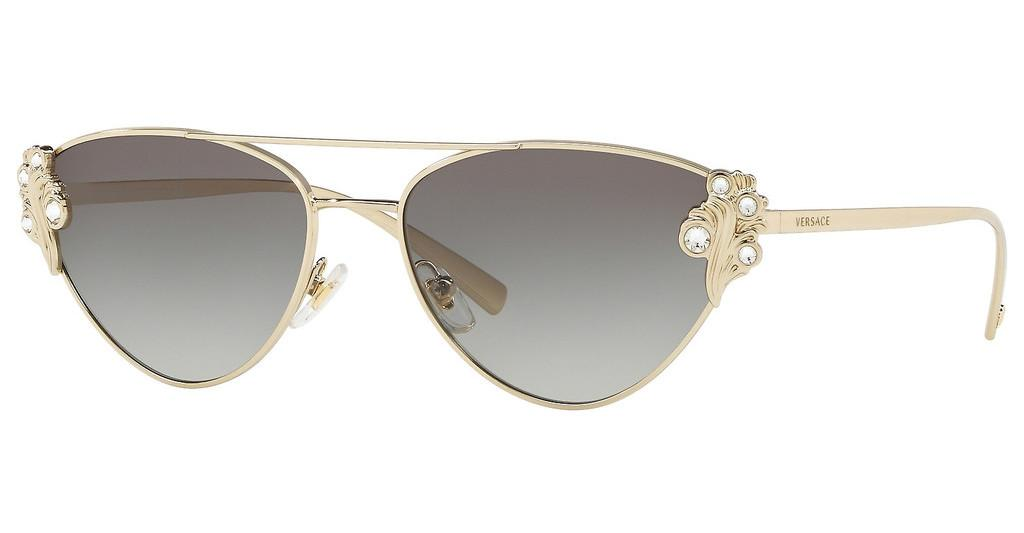 Versace   VE2195B 125211 GREY GRADIENTPALE GOLD