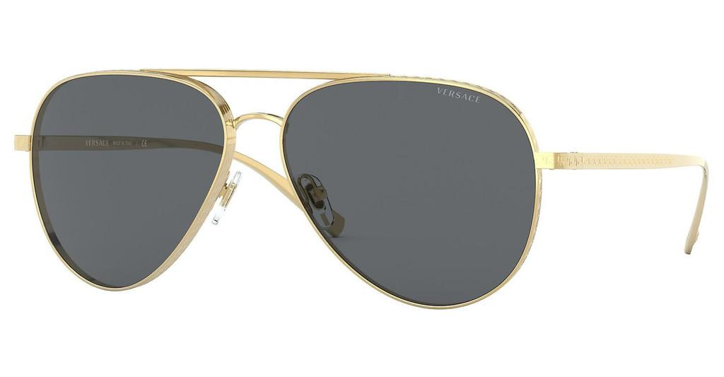 Versace   VE2217 100287 DARK GREYGOLD