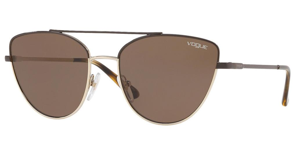 Vogue   VO4130S 848/73 BROWNBROWN/PALE GOLD