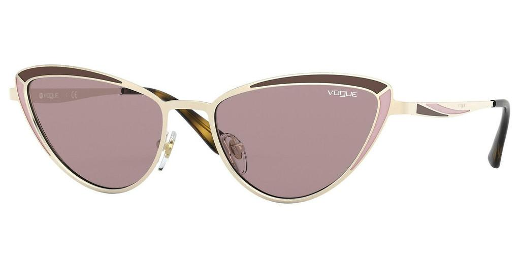 Vogue   VO4152S 848/7N PURPLE BROWNTOP PALE GOLD/MATTE BROWN PINK