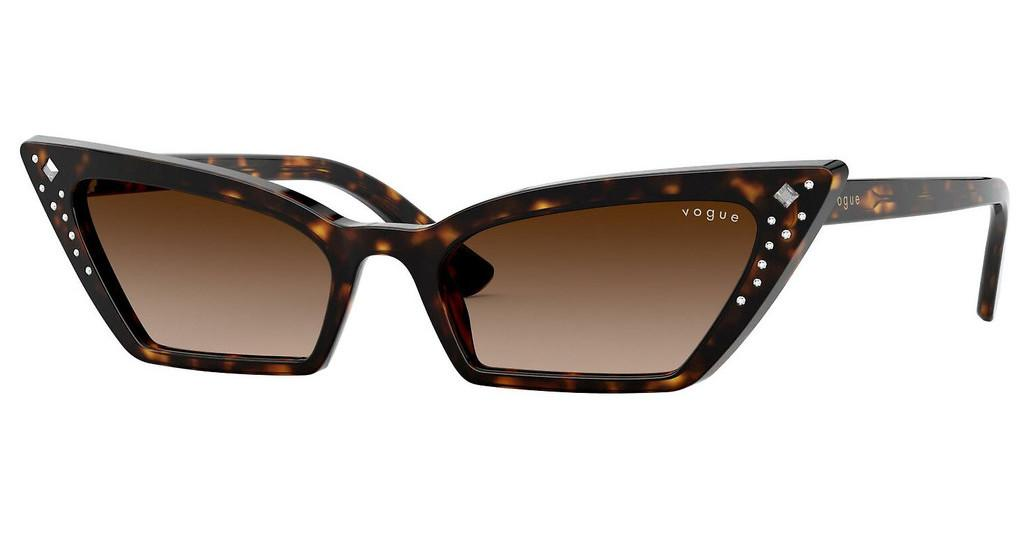 Vogue   VO5282BM W65613 BROWN GRADIENTDARK HAVANA