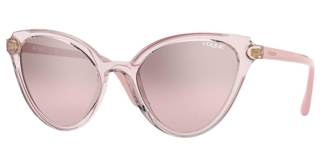 Vogue   VO5294S 27638Z BROWN MIRROR SILVER GRADIENTTOP TRANSPARENT PINK/PINK
