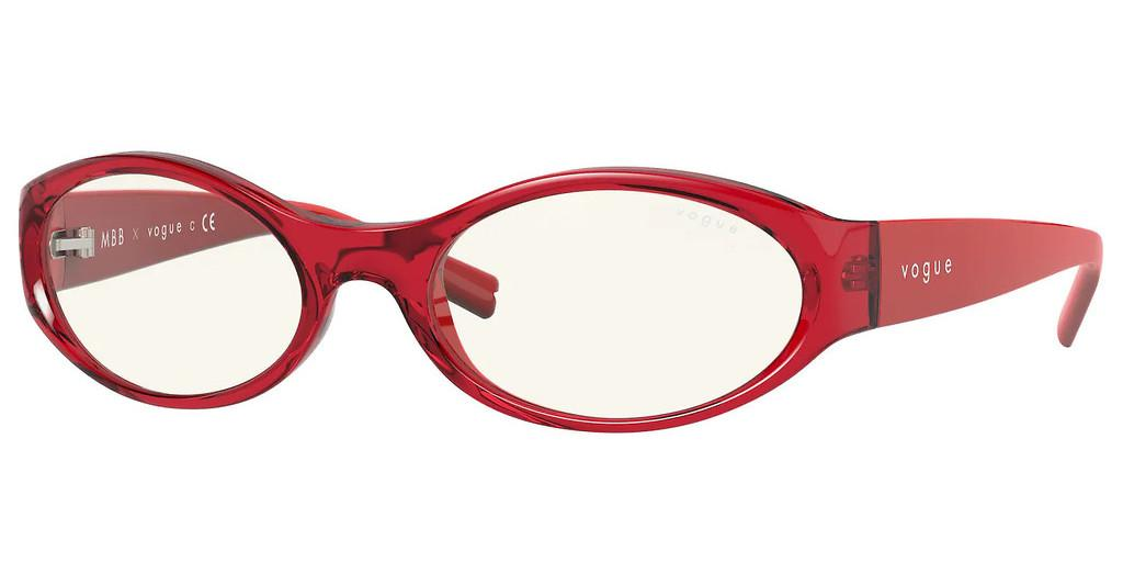 Vogue   VO5315S 28035X CLEAR & ARTRANSPARENT RED