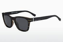 Boss Damen Sonnenbrille » BOSS 0888/S«, schwarz, 0T8/IR - schwarz/grau