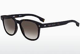 Boss Orange Herren Sonnenbrille » BO 0325/S«, braun, 086/IR - braun/grau