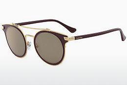 Calvin Klein Damen Sonnenbrille » CK1232S«, grau, 669 - grau/braun